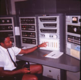 Spacecraft Voice Communications Console Leslie Lynch