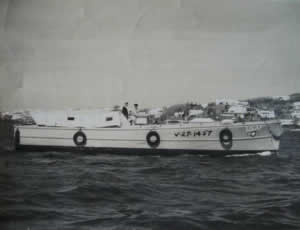 US Air Force Boat